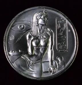 2 Oz Cleopatra Siren High Relief Round