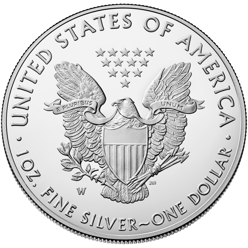 2019 1 Oz American Silver Eagle Proof Coin