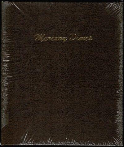 MERCURY DIMES DANSCO COIN ALBUM #7123