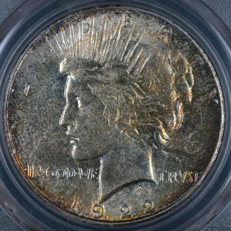 1922 Peace Dollar NGC MS-61